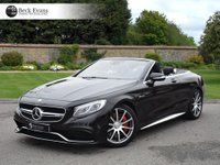 USED 2016 16 MERCEDES-BENZ S CLASS 5.5 AMG S 63 2d AUTO 577 BHP