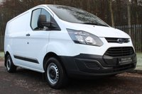 USED 2015 65 FORD TRANSIT CUSTOM 2.2 290 LR P/V 1d 99 BHP A TIDY TRANSIT CUSTOM WITH NO VAT TO BE ADDED AND A FULL SERVICE HISTORY!!!