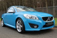 USED 2012 12 VOLVO C30 2.0 D3 R-DESIGN LUX 3d 148 BHP A STUNNING HIGH SPEC CAR WITH SAT NAV, FULL LEATHER AND FULL HISTORY!!!