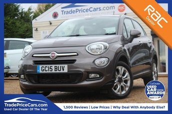 2015 FIAT 500X 1.4 MULTIAIR POP STAR 5d 140 BHP £9750.00