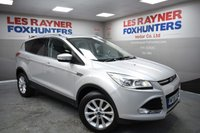 USED 2015 65 FORD KUGA 2.0 TITANIUM TDCI 5d 148 BHP Full Ford service History, 1 Owner, Cruise control, DAB Radio