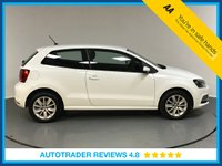 USED 2016 65 VOLKSWAGEN POLO 1.0 SE 3d 60 BHP VOLKSWAGEN HISTORY - BLUETOOTH - AIR CON - DAB RADIO - AUX / USB CONNECTION - TOUCH SCREEN DISPLAY