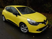 2014 RENAULT CLIO 1.5 EXPRESSION PLUS ENERGY DCI ECO2 S/S 5d 90 BHP £SOLD