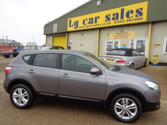 Used Nissan Qashqai Cars In Ely From Lg Car Sales