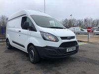 USED 2017 17 FORD TRANSIT CUSTOM 2.0 290 HR P/V 1d 104 BHP All Vehicles with minimum 6 months Warranty, Van Ninja Health Check and cannot be beaten on price!
