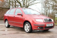 2004 SKODA FABIA 1.4 ELEGANCE 16V 5d AUTO 74 BHP £1250.00
