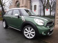 USED 2015 65 MINI COUNTRYMAN 1.6 COOPER S ALL4 5d AUTO 184 BHP FINANCE ARRANGED***PART EXCHANGE WELCOME***1 OWNER***FULL MINI SH***ONLY 4000 MILES***CRUISE***BLUETOOTH***DAB
