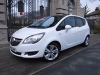 USED 2015 65 VAUXHALL MERIVA 1.4 SE 5d 99 BHP FINANCE ARRANGED***PART EXCHANGE WELCOME***1 OWNER***PANORAMIC ROOF***CRUISE***BLUETOOTH***F+R PARKING SENSORS***