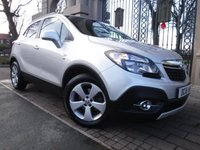 USED 2016 16 VAUXHALL MOKKA 1.6 SE CDTI ECOFLEX S/S 5d 134 BHP FINANCE ARRANGED***PART EXCHANGE WELCOME***1 OWNER***£20 ROAD TAX***FULL LEATHER***HEATED FRONT SEATS***CRUISE***BLUETOOTH***DAB***