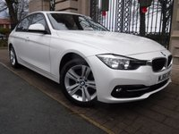 USED 2016 66 BMW 3 SERIES 2.0 320I SPORT 4d AUTO 181 BHP ****FINANCE ARRANGED****PART EXCHANGE WELCOME*** 1 OWNER SAT/NAV BLUETOOTH PHONE PARKING SENSORS AIR/CON CRUISE CONTROL DAB RADIO