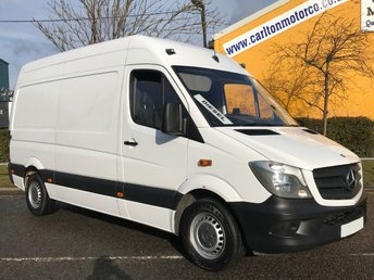 2014 MERCEDES-BENZ SPRINTER 2.1 313 CDI 130 MWB [ MOBILE WORKSHOP ] VAN LOW MILEAGE  £12950.00
