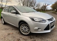 2012 FORD FOCUS 1.6 ZETEC 5d + PRIVACY GLASS + UPGRADED ALLOYS £4375.00