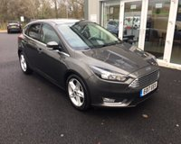 USED 2017 17 FORD FOCUS 1.0 TITANIUM NAVIGATOR ECOBOOST 125 BHP THIS VEHICLE IS AT SITE 2 - TO VIEW CALL US ON 01903 323333
