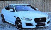2016 JAGUAR XE 2.0 R-SPORT 4d AUTO 180 BHP £20995.00