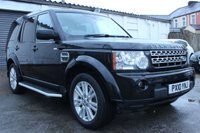 2010 LAND ROVER DISCOVERY 3.0 4 TDV6 HSE 5d AUTO 245 BHP £17000.00