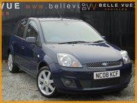 USED 2008 08 FORD FIESTA 1.4 ZETEC BLUE TDCI 5d 68 BHP *GREAT VALUE DIESEL, £30 ROAD TAX*