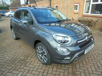 2016 FIAT 500X 1.4 MULTIAIR CROSS PLUS SAT NAV 5d 140 BHP £10995.00