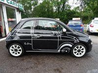 USED 2015 15 FIAT 500 1.2 RON ARAD EDITION 3d 69 BHP *RARE SPECIAL EDITION* Low Mileage, Full Service History, Serviced by ourselves, MOT until June 2020, Great fuel economy! Only £30 Road Tax!