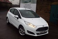 USED 2015 15 FORD FIESTA 1.0 ZETEC 5d AUTO 99 BHP One Owner FULL Ford Service History