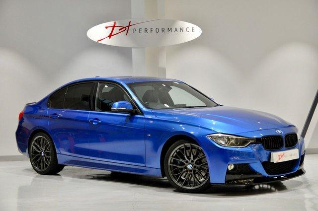 2015 15 BMW 3 SERIES 3.0 330D M SPORT 4d AUTO 255 BHP