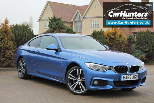 2015 65 BMW 4 SERIES 2.0 420I XDRIVE M SPORT 2d AUTO 181 BHP