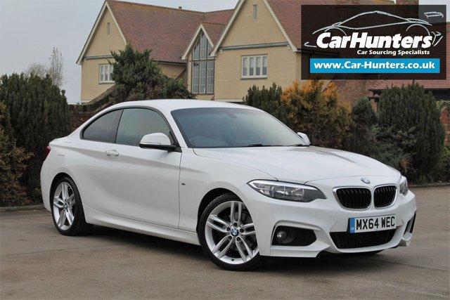 2014 64 BMW 2 SERIES 2.0 220D M SPORT 2d 181 BHP