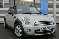 2012 MINI HATCH COOPER 1.6 COOPER 3d 122 BHP £6980.00