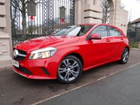 USED 2016 66 MERCEDES-BENZ A CLASS 1.5 A 180 D SPORT 5d 107 BHP FINANCE ARRANGED***PART EXCHANGE WELCOME***1 OWNER***£20 ROAD TAX***FULL SERVICE HISTORY***SAT NAV***REVERSING CAMERA***FULL LEATHER