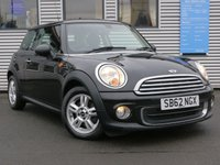 2012 MINI HATCH ONE 1.6 ONE 3d 98 BHP £5995.00
