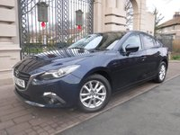 USED 2015 65 MAZDA 3 2.0 SE-L NAV 4d 118 BHP *** FINANCE & PART EXCHANGE WELCOME *** 1 OWNER £ 30 ROAD TAX SAT/NAV BLUETOOTH PHONE PARKING SENSORS HEATED SEATS AIR/CON CRUISE CONTROL