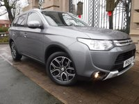 USED 2015 15 MITSUBISHI OUTLANDER 2.3 DI-D GX 3 5d 147 BHP FINANCE ARRANGED***PART EXCHANGE WELCOME***1 OWNER***4WD***7 SEATS***FULL LEATHER