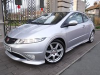 USED 2008 08 HONDA CIVIC 2.0 I-VTEC TYPE-R GT 3d 198 BHP FINANCE ARRANGED***PART EXCHANGE WELCOME***CRUISE CONTROL***AIR CON***CD PLAYER