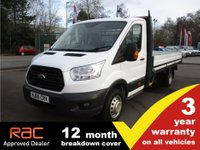 USED 2016 66 FORD TRANSIT DROPSIDE 350 L4 (DRW) 125ps L4 Dropside. Ready to work. Tidy condition. FSH.