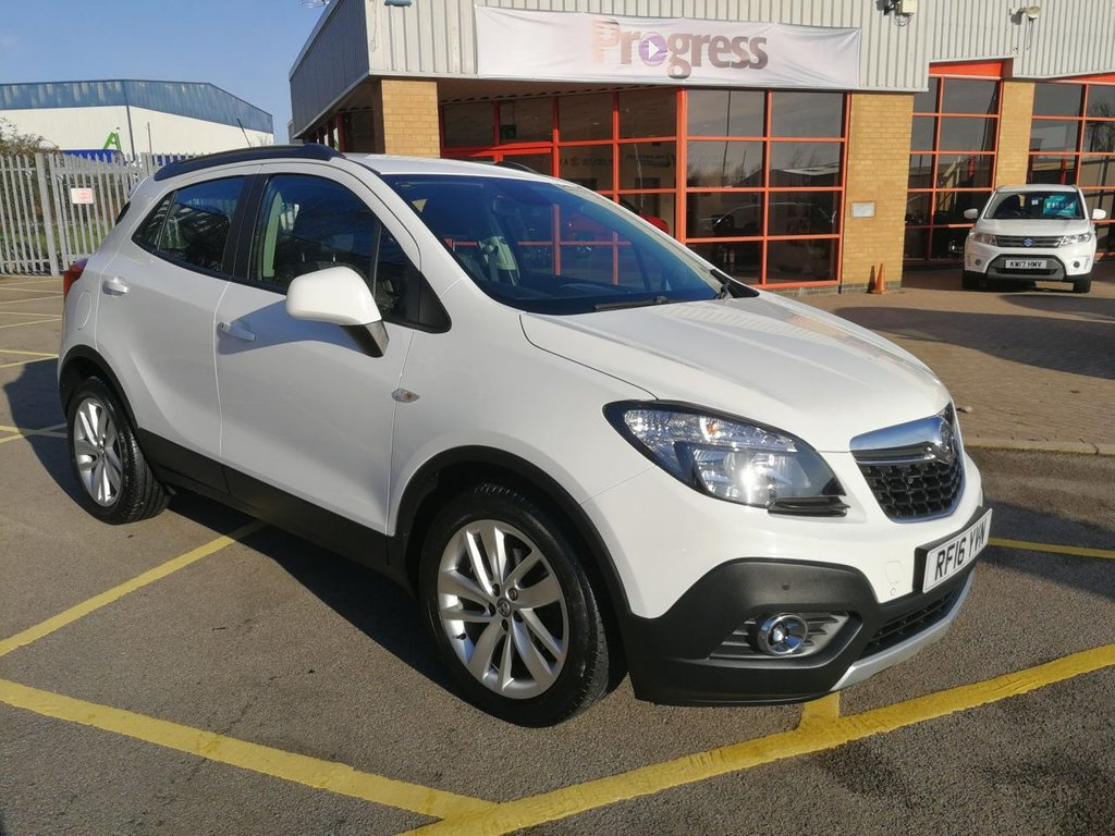 USED 2016 16 VAUXHALL MOKKA 1.4 (EURO 6) EXCLUSIV S/S 140 BHP 1 OWNER, LOW MILES, VERY CLEAN.