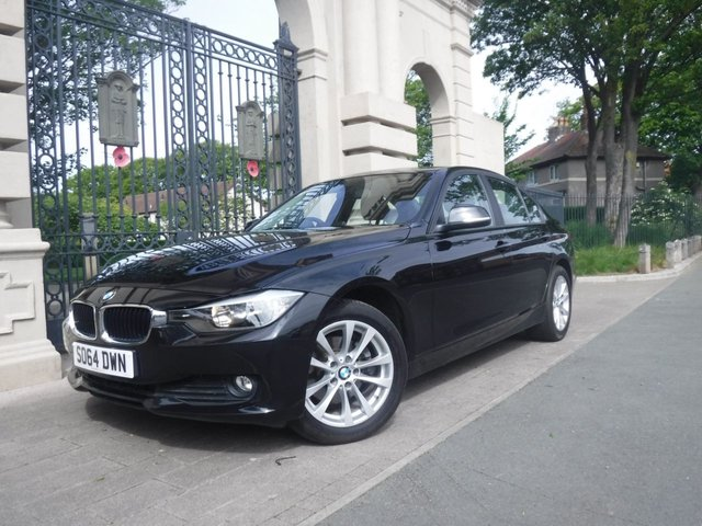 USED 2014 64 BMW 3 SERIES 2.0 320D XDRIVE SE 4d AUTO 181 BHP *** FINANCE & PART EXCHANGE WELCOME * 1 OWNER 4X4 DIESEL AUTOMATIC FULL BLACK LEATHER HEATED SEATS BLUETOOTH PHONE PARKING SENSORS