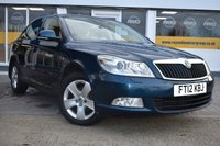 USED 2012 12 SKODA OCTAVIA 1.6 ELEGANCE TDI CR DSG 5d AUTO 103 BHP COMES WITH 6 MONTHS WARRANTY