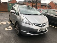 USED 2010 10 HONDA JAZZ 1.3 I-VTEC SI 5d 98 BHP ONLY 51015 MILES AND FULL HISTORY!. EXCELLENT SPECIFICATIONS  ALLOY WHEELS, AUXILLIARY CONNECTION, AIR CONDITIONING!.. EXCELLENT FUEL ECONOMY, LOW CO2 EMISSIONS, LOW ROAD TAX AND CHEAP TO RUN!