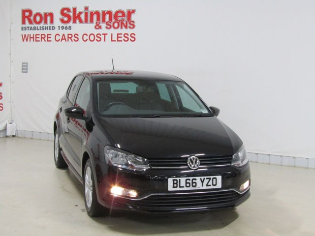 View our 2016 66 VOLKSWAGEN POLO 1.0 MATCH 5d 74 BHP