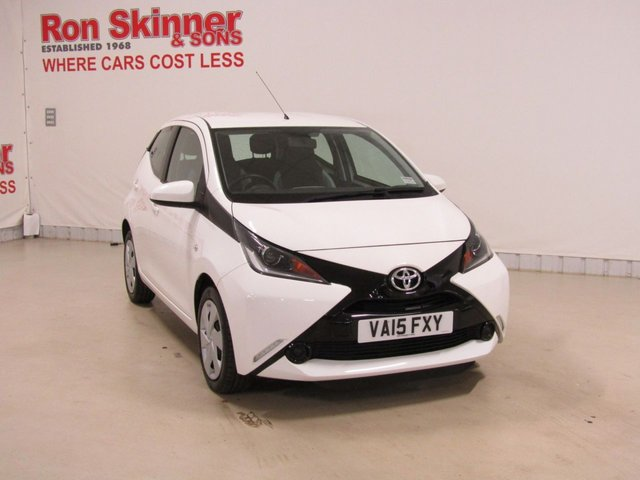 View our 2015 15 TOYOTA AYGO 1.0 VVT-I X-PLAY 5d 69 BHP