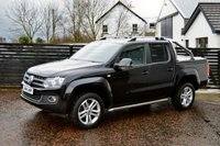 USED 2014 14 VOLKSWAGEN AMAROK 2.0 DSG TDI HIGHLINE 4MOTION AUTO 180 BHP 6 MONTHS RAC WARRANTY FREE + 12 MONTHS ROAD SIDE RECOVERY!