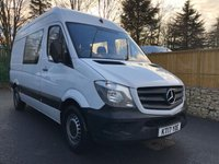 USED 2017 17 MERCEDES-BENZ SPRINTER 2.1 314CDI 1d 140 BHP All Vehicles with minimum 6 months Warranty, Van Ninja Health Check and cannot be beaten on price!