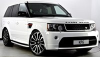 USED 2012 62 LAND ROVER RANGE ROVER SPORT 3.0 SD V6 HSE Red Edition 4X4 5dr Auto [8] Autobiography Exterior Pack ++