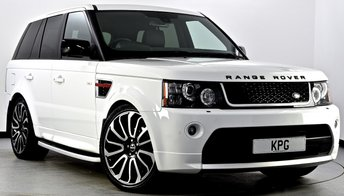 2012 LAND ROVER RANGE ROVER SPORT 3.0 SD V6 HSE Red Edition 4X4 5dr Auto [8] £25995.00