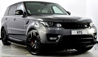 "USED 2015 15 LAND ROVER RANGE ROVER SPORT 3.0 SD V6 HSE Dynamic 4X4 (s/s) 5dr Stealth Pack, 22""s, Meridian +"