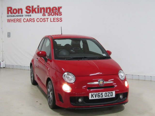 View our 2015 65 ABARTH 500 1.4 595 3d 138 BHP