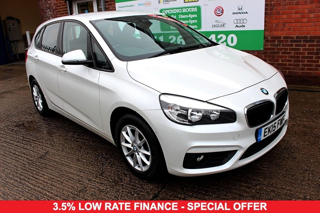 2015 15 BMW 2 SERIES 2.0 218D SE ACTIVE TOURER 5d 148 BHP