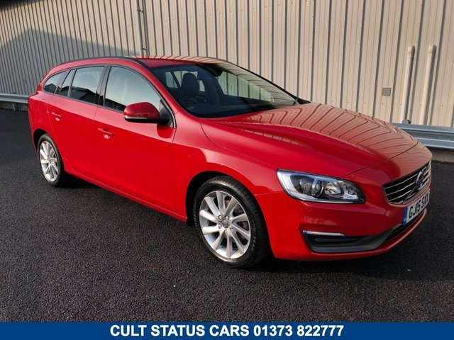 2015 15 VOLVO V60 2.0 D4 BUSINESS EDITION ESTATE 178 BHP MANUAL WITH LEATHER TRIM