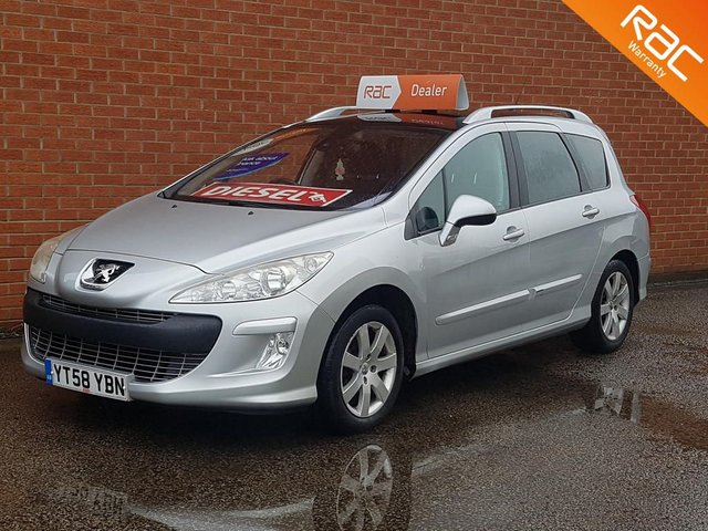 2008 58 PEUGEOT 308 1.6 SW SE HDI 5d 110 BHP  HIGH SPEC -- 7 SEATS --