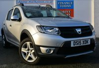 USED 2015 15 DACIA SANDERO 1.5 STEPWAY AMBIANCE DCI Low Mileage 5d Family SUV with Low Road Tax and High 70mpg ONE OWNER FROM NEW