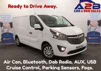 2015 VAUXHALL VIVARO 1.6 CDTi SPORTIVE 2700 BI-TURBO 120 BHP, One Owner From New, Air Con, Bluetooth, DAB Radio, 2 Remote Keys and more.... £8980.00